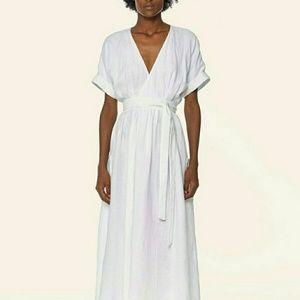 Mara Hoffman wrap dress M